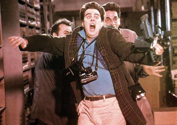 """Bill Murray, Harold Ramis and Dan Aykroyd in """"Ghostbusters"""""""
