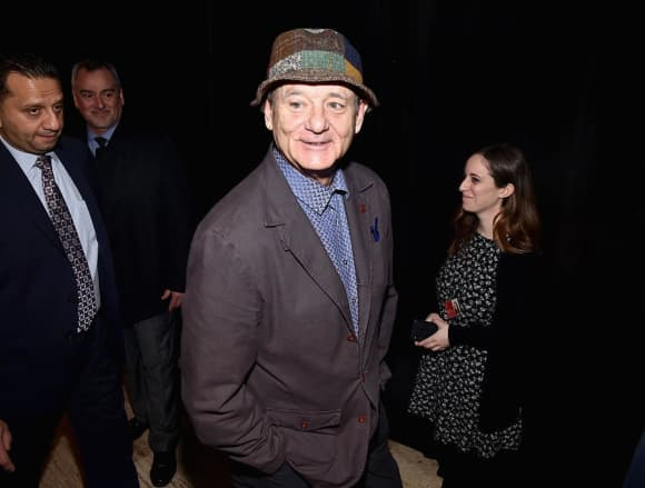 "Bill Murray played in ""Ghostbusters"""