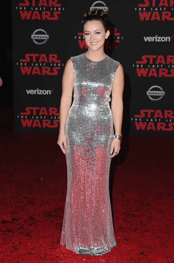 Billie Lourd Star Wars Premiere