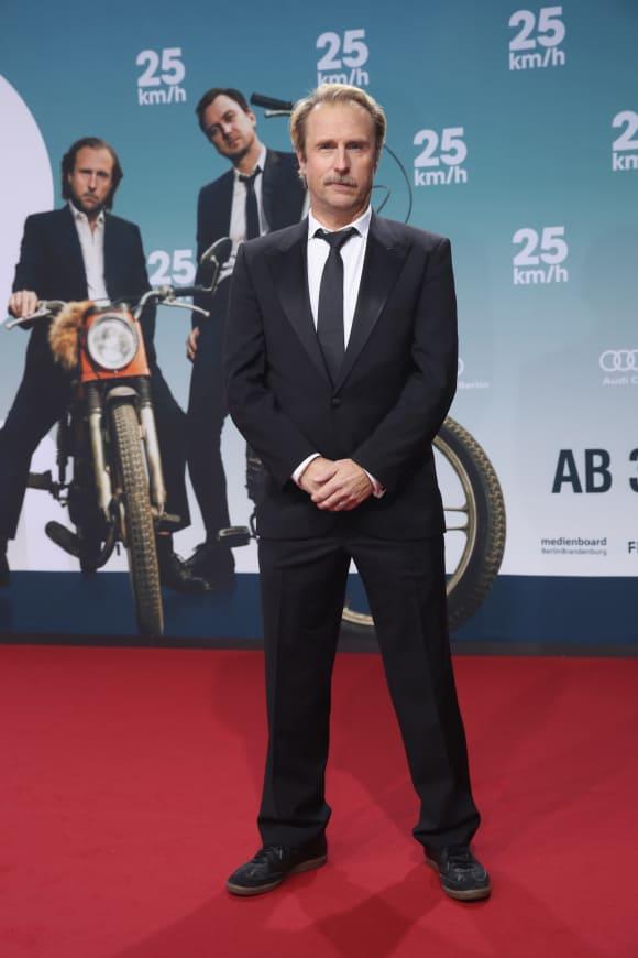 """Bjarne Mädel bei der Premiere von """"25 km/h"""""""