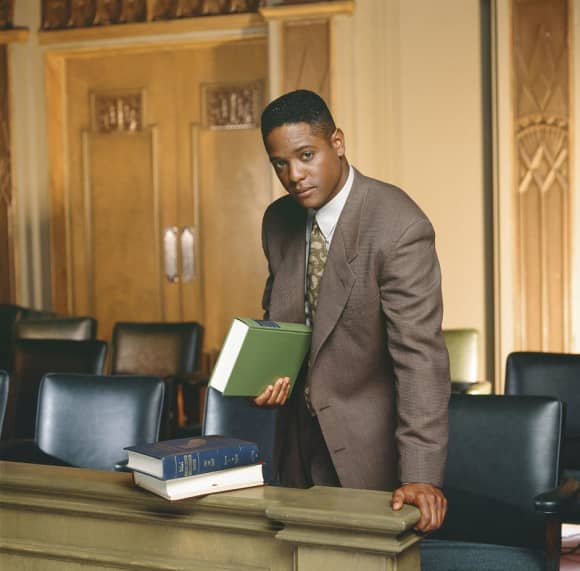 "Blair Underwood played the role of ""Jonathan Rollins"" in L.A. Law"