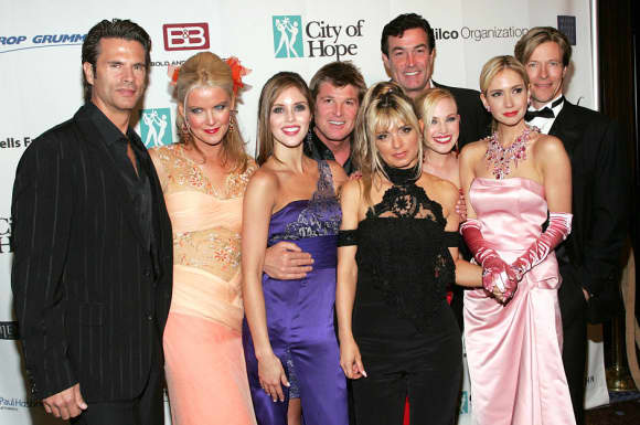 "The cast of ""The Bold and the Beautiful"""
