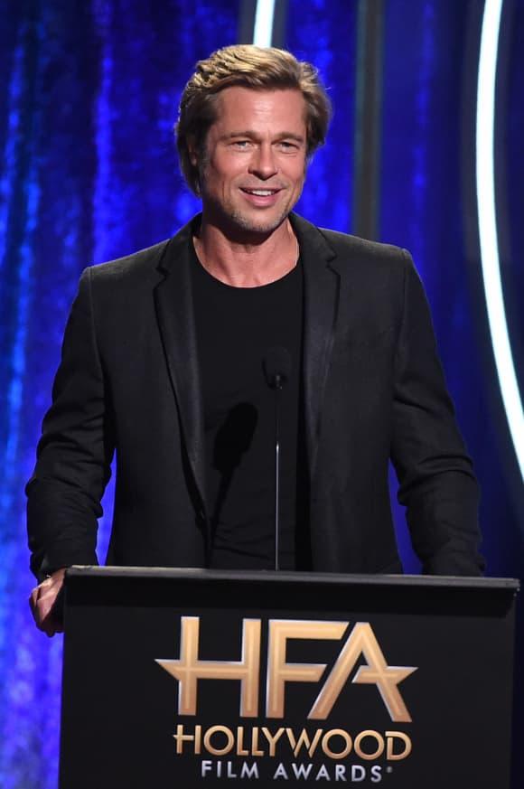 Brad Pitt in 2018