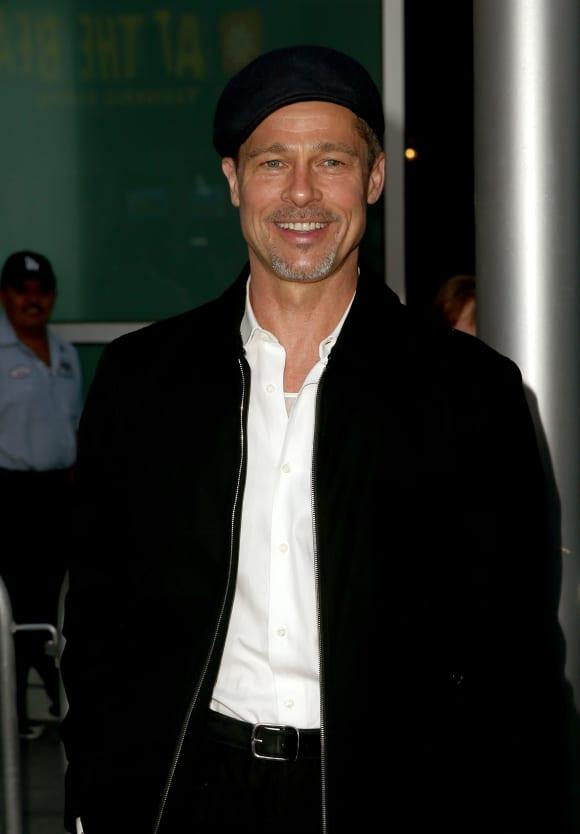 Brad Pitt in 2017