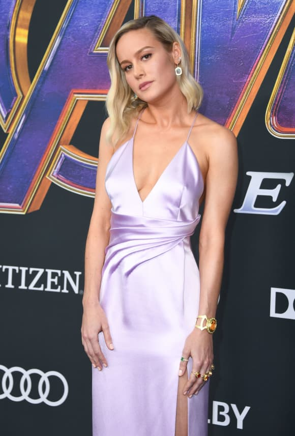 Brie Larson at the Avengers: Endgame Premiere