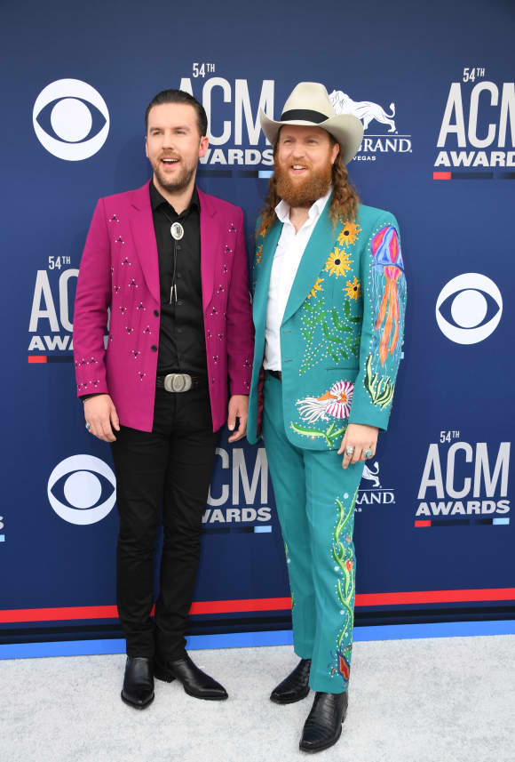 Brothers Osborne at the 54th Academy of Country Music Awards