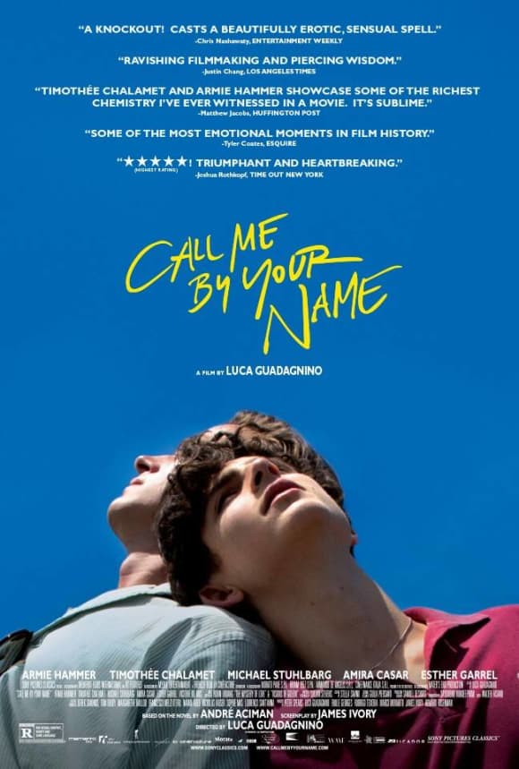 """Armie Hammer und Timothee Chalamet in """"Call Me By Your Name"""""""