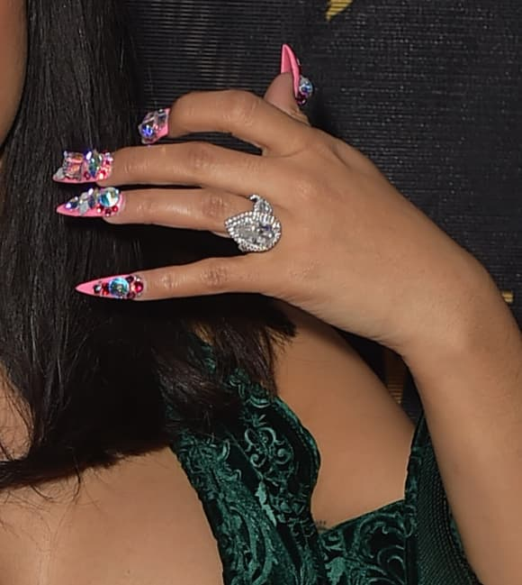 Cardi B's engagement ring