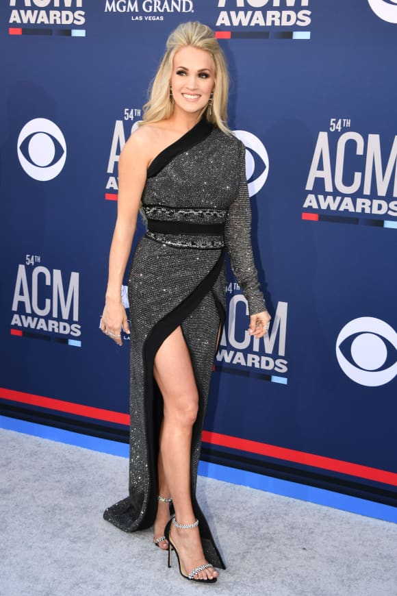 Carrie Underwood at the 54th Academy of Country Music Awards