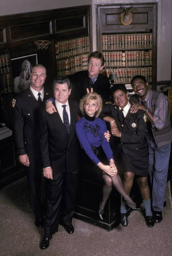 Charles Robinson, Markie Post, Harry Anderson, Night Court