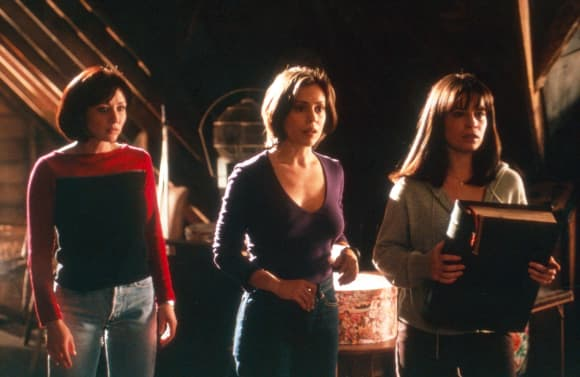 Shannen Doherty, Alyssa Milano und Holly Marie Combs