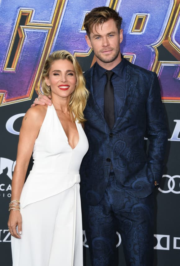 Chris Hemsworth and Elsa Pataky at the Avengers: Endgame Premiere
