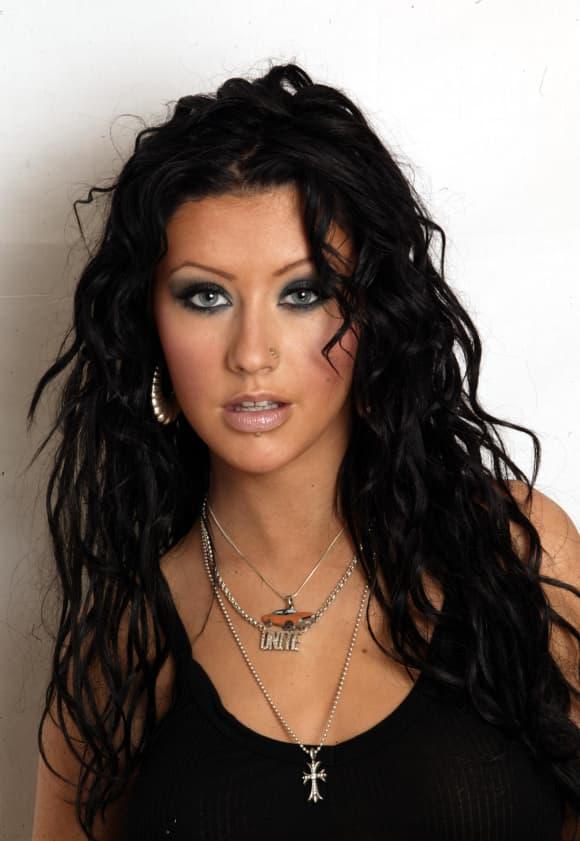 Christina Aguilera im Jahr 2003
