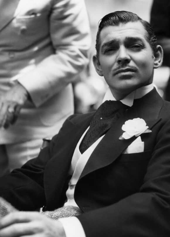 "Clark Gable excelled in ""Gone with the Wind"" as ""Rhett Butler"""
