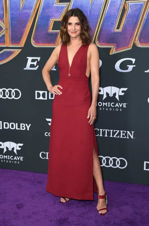 Cobie Smulders at the Avengers: Endgame Premiere