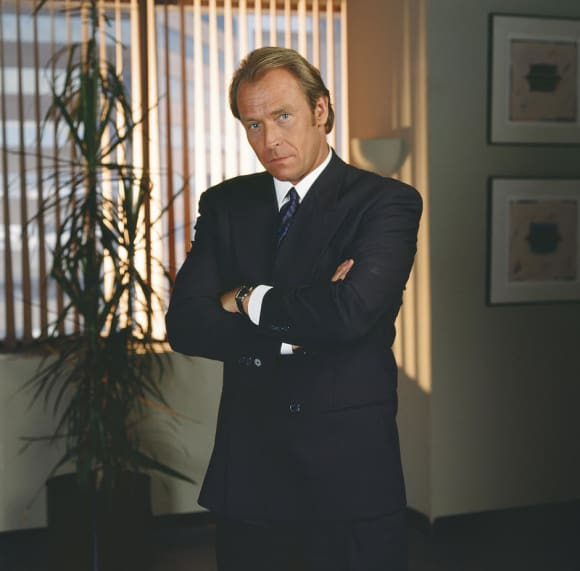 "Corbin Bensen played the role of ""Arnold Becker"" on L.A. Law"