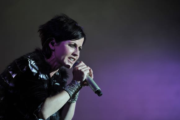 """The Cranberries"" lead singer Dolores O'Riordan"