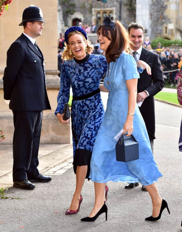 Cressida Bonas St. George's Chapel Windsor Eugenie Wedding