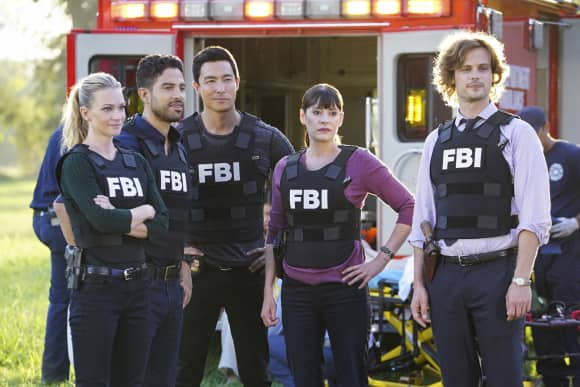 "The cast of ""Criminal Minds"" season 13"