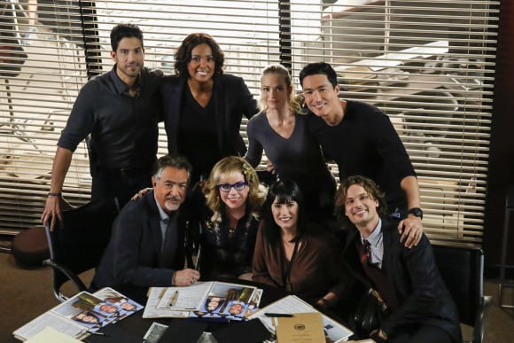 "The ""Criminal Minds"" Cast"