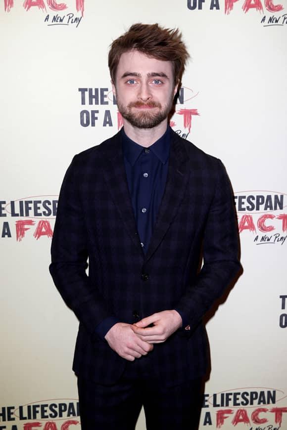 Daniel Radcliffe bei der After-Show-Party nach einem seiner Theateraufführungen