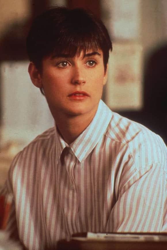"""Demi Moore as """"Molly Jensen"""" in Ghost"""