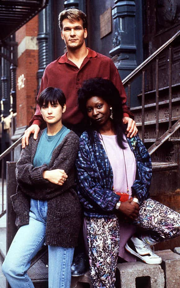 Demi Moore, Patrick Swayze and Whoopi Goldberg in Ghost