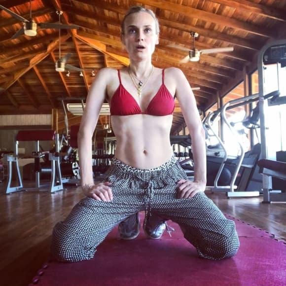Diane Kruger zeigt stolz ihren After-Baby-Body