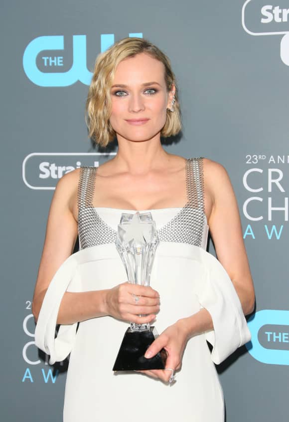 """Diane Kruger nahm den Award für ihren Film """"Aus dem Nichts"""" entgegen"""