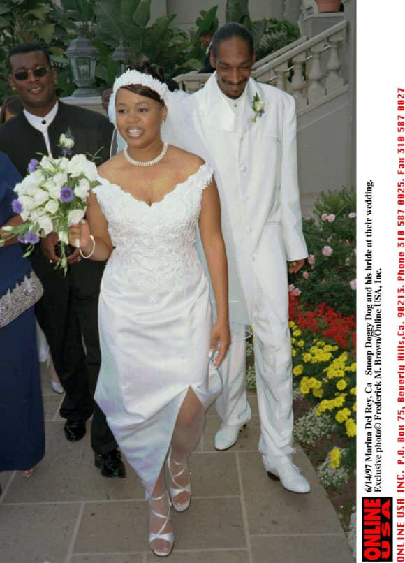 Snoop Dogg bei seiner Hochzeit