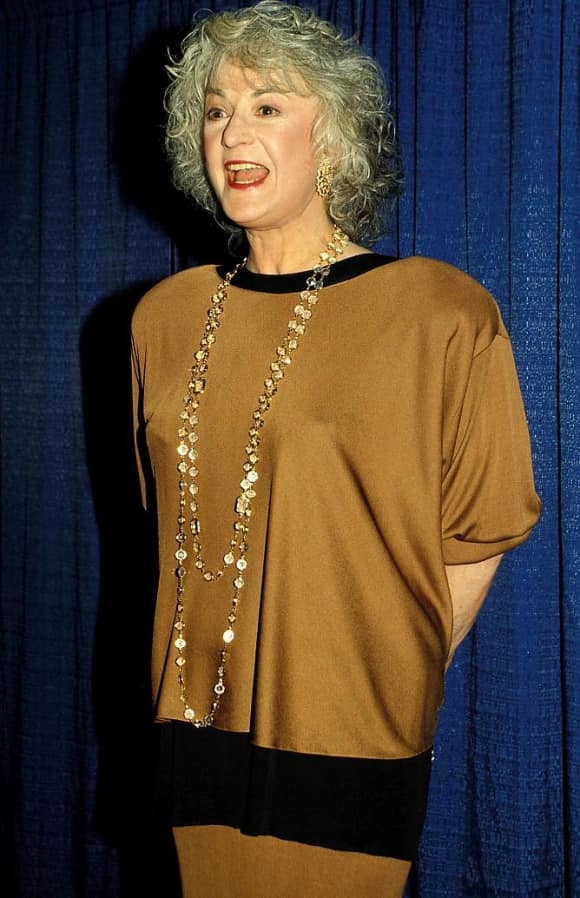 "Beatrice 'Bea' Arthur played the role of ""Dorothy Zbornak"" on The Golden Girls"