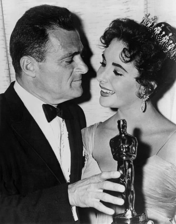 Elizabeth Taylor und ihr Ehemann Michael Todd