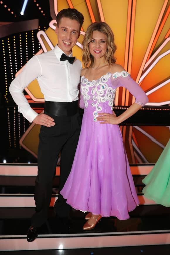 """Ella Endlich und Valentin Lusin bei """"Let's Dance"""" 2019 auf RTL"""