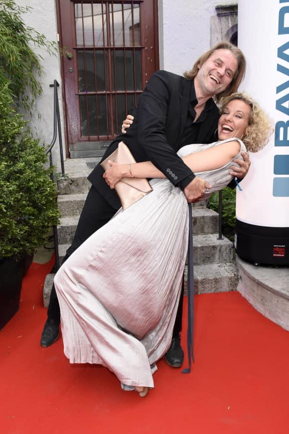 Erich Altenkopf und Melanie Wiegmann verstehen sich auch privat wunderbar