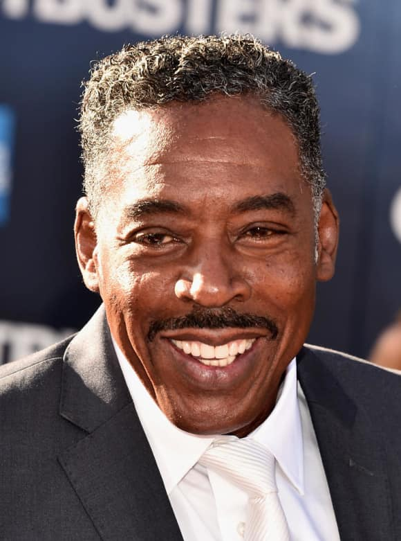"Ernie Hudson played in ""Ghostbusters"""