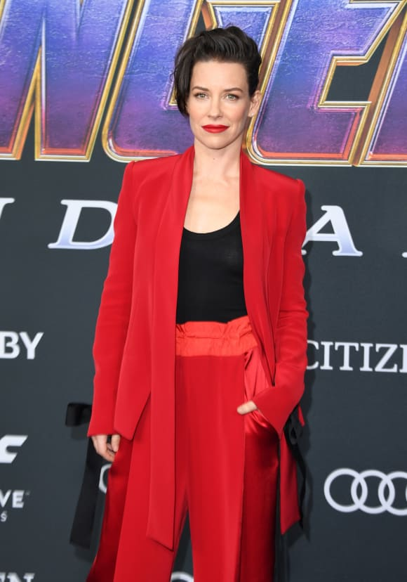 Evangeline Lilly at the Avengers: Endgame Premiere