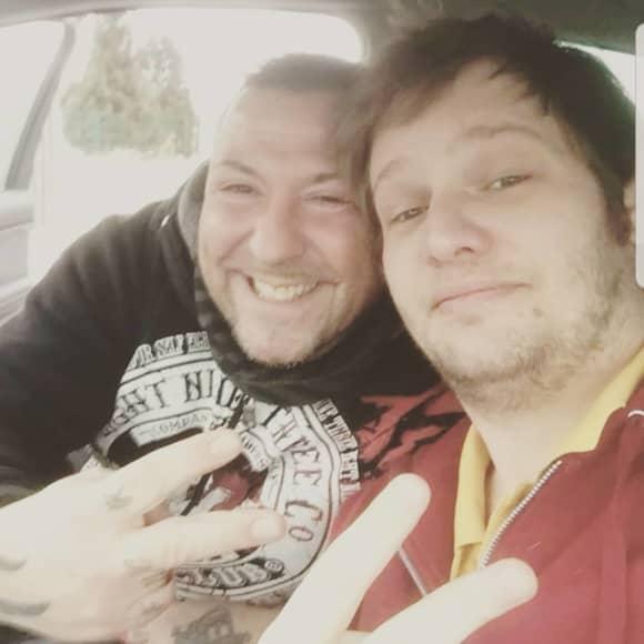 Fernando Dela Vega und Falko Ochsenknecht