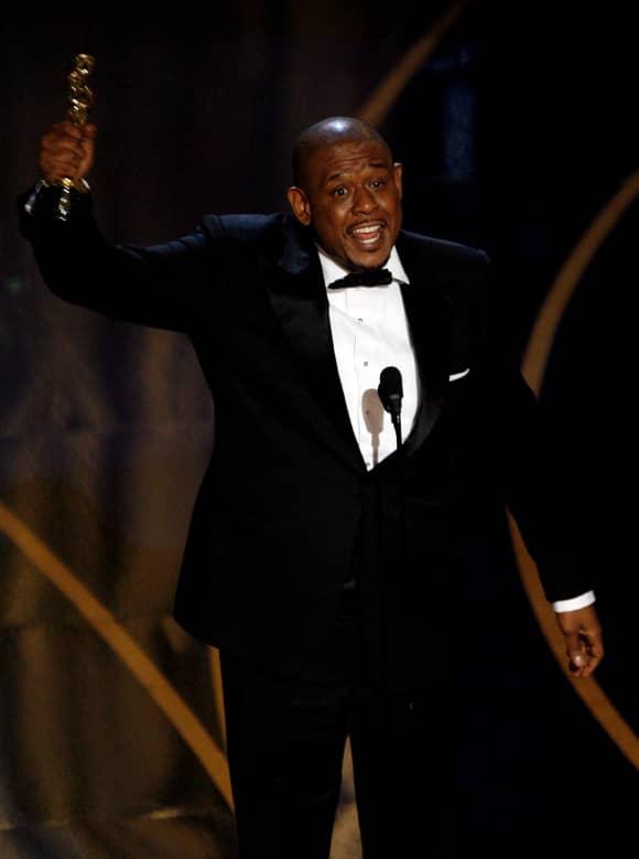 """Forest Whitaker bei der Oscar-Verleihung 2007. Er erhielt den Academy Award für seine Darbietung in """"Der letzte König von Schottland"""""""