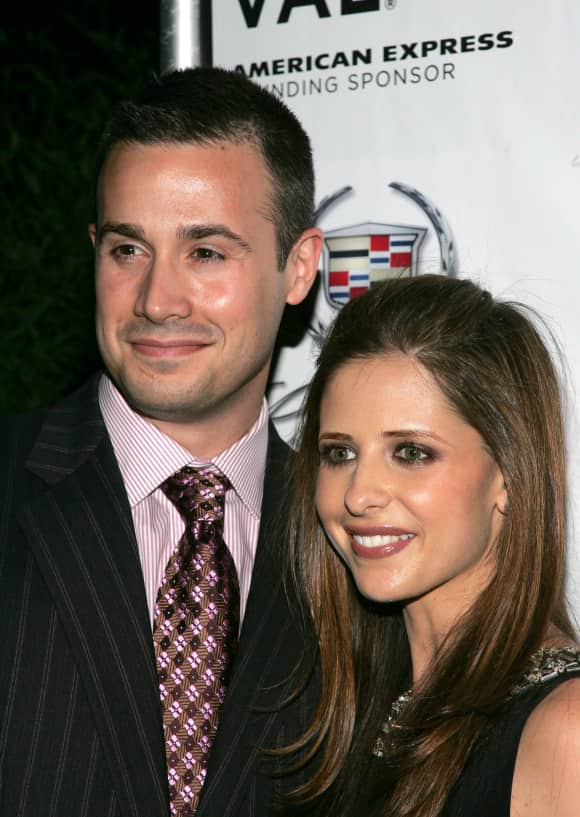 Freddie Prinze Junior and Sarah Michelle Gellar