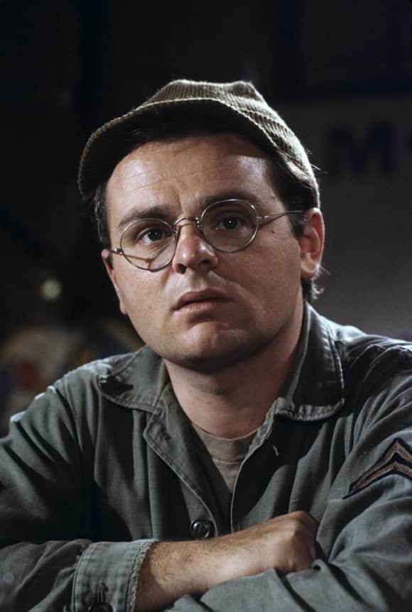 "Gary Burghoff starred as ""Walter 'Radar' O'Reilly"" in ""M*A*S*H"""