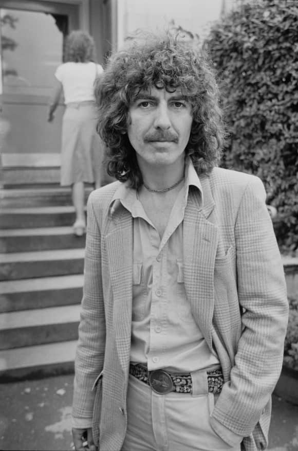 George Harrison verstarb 2001 an Krebs