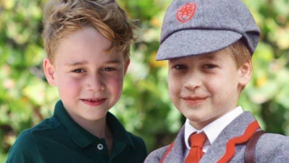 Prinz George ist Prinz Williams Mini-Me