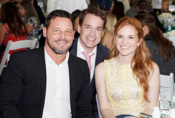 """T.R. Knight, Sarah Drew und Justin Chambers feierten eine kleine """"Grey's Anatomy""""-Reunion"""