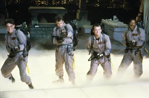 "The unforgettable ""Ghostbusters"""