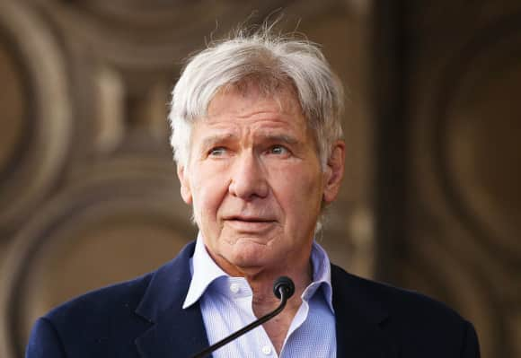 Hollywood legend Harrison Ford
