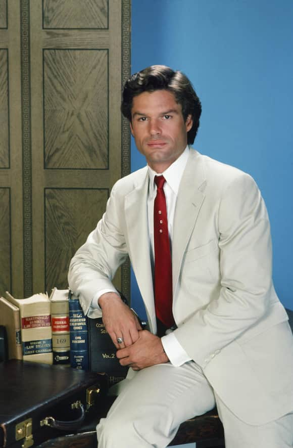 "Harry Hamlin played the role of ""Michael Kuzak"" on L.A. Law"