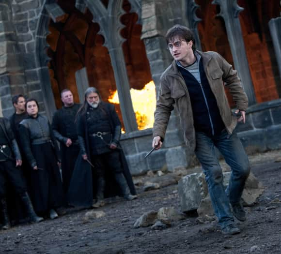 "Daniel Radcliffe alias ""Harry Potter"" in ""Harry Potter und die Heiligtümer des Todes"""