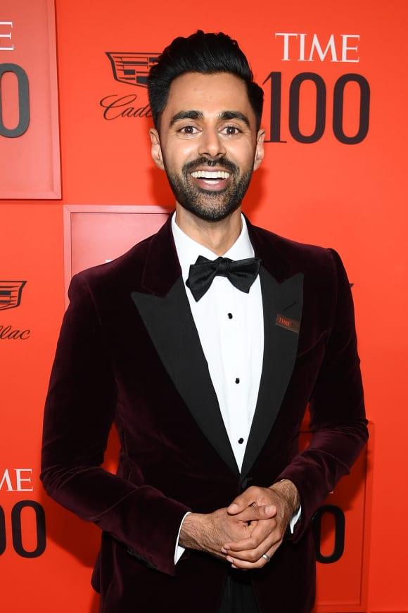 Hasan Minhaj at the TIME 100 Gala 2019