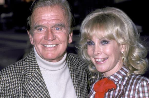 Hayden Rorke und Barbara Eden