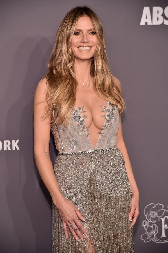Heidi Klum auf der amfAR Gala 2019 in New York